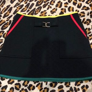 JUICY COUTURE quilted mini skirt size 0